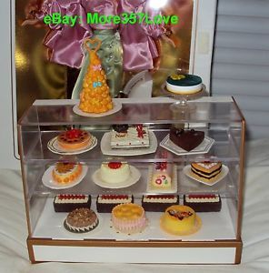 Dollhouse Miniature re ment Special Cake Barbie Fake Food x Diorama Bakery Store