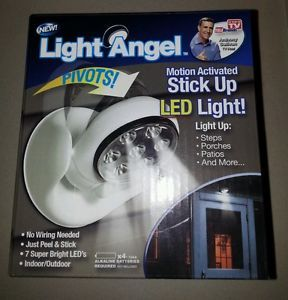 Light Angel Motion Activated Sensor Stick Up LED Light as Seen on TV Cordless