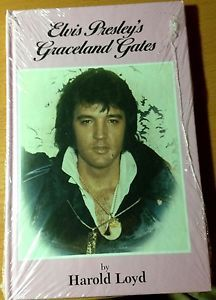 "RARE SEALED Collectible Hardcover ""Elvis Presley's Graceland Gates"" Harold Loyd"