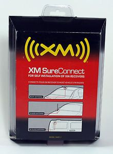 Genuine XM Satellite Radio Sureconnect Antenna Booster Cable by Audiovox