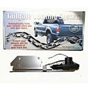 New Bulldog Add on Electric Tailgate Lock Power Tail Gate Security Door BDTL2500