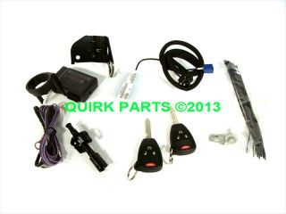 2011 2012 Jeep Wrangler Remote Start Kit Mopar Genuine Brand New