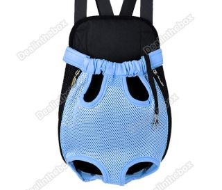 Nylon Pet Dog Carrier Backpack Net Bag Any Legs Out Front Style Durable New