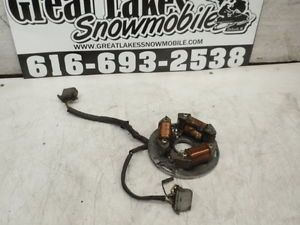 Polaris Indy 600 and 650 Triple Snowmobile Engine Ignition Stator Plate