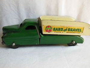 Vintage Buddy L Toys Dump Truck Sand and Gravel Construction Toy