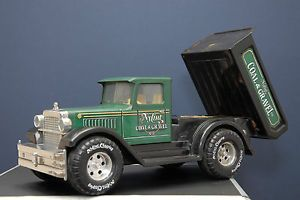 1990 Nylint Pressed Steel Coal Gravel Dump Truck 3050 Made in USA