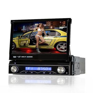 In Dash 1Din Car Radio DVD Player GPS Navigation Bluetooth iPod Autoaudio Carpc
