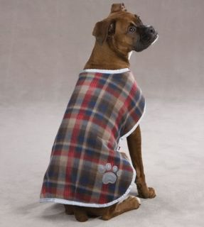 Reversible Blanket Dog Coat Jacket Reflective Rain Noreaster Pet Waterproof
