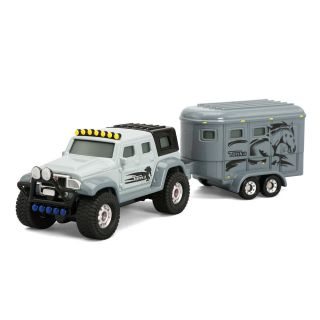 Tonka Die Cast 4x4 Hauler with Horse Trailer