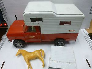 Toy Truck and Horse Trailer
