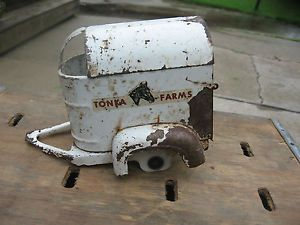 Vintage Tonka Horse Trailer for Restoration Vintage Toy Truck Trailer