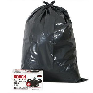 Super Heavy Duty 42 Gallon Trash Bags Wholesale Plastic Garbage Can Liners