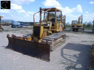 Caterpillar D3C LGP Dozer Loader Tractor Cat Wide Pads Tractor Loader