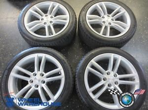 Four 2013 Tesla Model s Factory 19 Wheels Tires Rims 600721400D Michelin