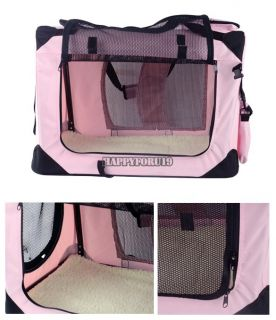 Portable Pet Dog House Soft Crate Carrier Cage Kennel Case 3 Colors 5 Size Hfor