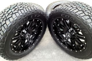 "20"" Black Wheels Tires Dodge Truck RAM 1500 20x9 Lonestar 20 inch Rims"