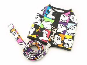 Pet Dog Apparel Clothes Coat Harness Vest Leash Set