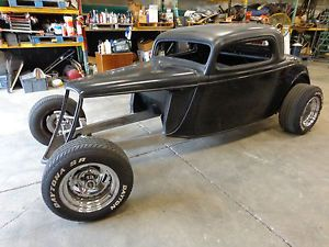 "1933 34 Ford 3 Window ""Hankster"" Roadster Hot Rod Street Rod Rat Rod Roller"