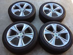 2012 Honda Accord Tire and Wheels 235 45 R18 inch Michelin Pilots
