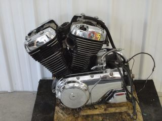 2001 Suzuki Intruder VS800 Engine Transmission Only 17 622 Miles Nice 3155