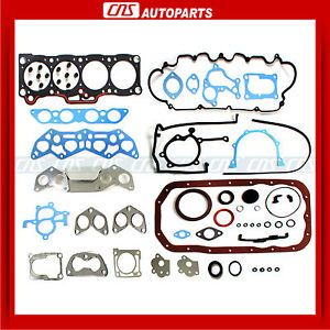 88 92 Mazda 2 2L 626 MX6 Ford Probe Engine Full Gasket Set F2