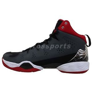 Nike Jordan Melo M10 Carmelo Anthony Grey Red 2014 Mens Basketball Shoes