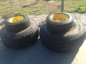 John Deere Tractor 850 Turf Tires Wheels Front An Back New 13 6 x 16
