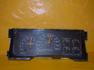 98 99 00 Chevy GMC Pickup 1998 Speedometer Instrument Cluster Dash Panel 181 628