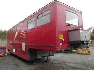 Cartwright Horsebox Artic Horse Box Show Race Horse Transporter Trailer
