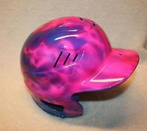 Rawlings Coolflo Airbrushed Youth Baseball Softball Fastpitch Batting Helmet