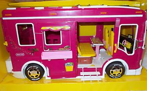 Breyer Horse Cruiser Van RV Trailer camper for Pony Gals Classic Pink New