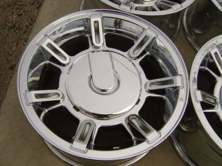 "06 07 08 09 10 Hummer H2 17"" Chrome Alloy Wheels Rims Chevy GMC 2500 8x6 5"