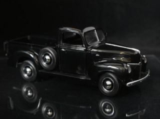 Franklin Mint 1940 Ford Pickup Black 1 24