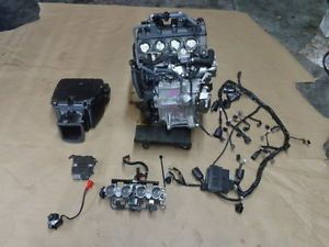 New 2013 13 Kawasaki Ninja ZX636 ZX6 zx6r Engine Motor Kit Runs Excellent Z295