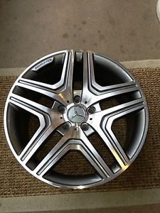 Mercedes Benz G55 G550 G500 G65 G63 W463 AMG Wheels Rims 5 Spoke 20x10 No Tires