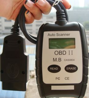 OBD2 OBD Car Scanner Check Engine Light Code Reader W53