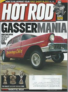 2012 Hot Rod Magazine July Rat Rod Hot Rod Kustom