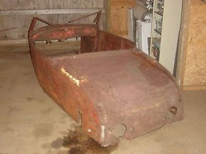 28 29 Ford Model A Roadster Channeled Chopped Sectioned Hot Rod Rat Rod Body
