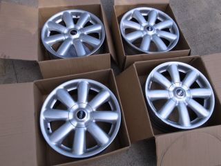 Mini Cooper R105 2007 17x7 Crown Spoke Sparkle Silver Rim Wheels