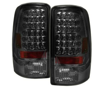 Tail Lights Chevy Suburban Tahoe GMC Yukon 2000 2006 Lift Gate LED Smoke