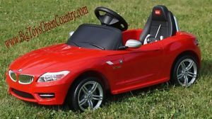 BMW Z4 Electric Kids Ride on Battery Powered Wheels Car RC Remote Control Red