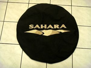 Jeep Wrangler TJ Zahara 2007 2013 Rear Spare Tire Cover Protector Tan Color