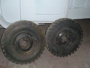 Willys Jeep Truck Wagon Wheels Tires 16 inch Jeep Wheels 7 50 16 Snow Tires