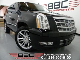 Cadillac Escalade Platinum EDT Navi Buckets 22 Chrome Whls RR DVD HD Rest TVs