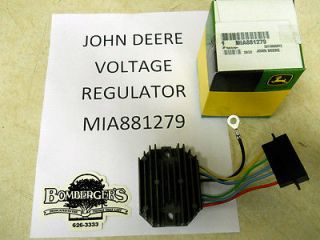 John Deere Voltage Regulator for 870 970 990 1070 F912 F915 MIA881279