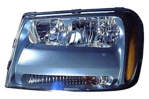 Replace GM2502304 2006 Chevy Trailblazer Front LH Headlight Assembly