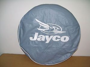 "RV Trailer camper Jayco 12"" Spare Tire Cover Blue"
