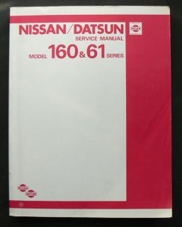 Nissan Datsun 160 61 P40 SD33 L28 Engine Workshop Service Repair Manual Factory