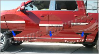 09 10 2009 2010 Dodge RAM Rocker Panel Trim Molding 1""