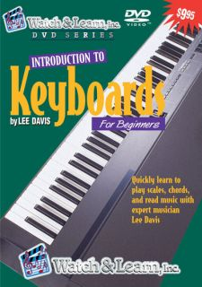 Beginner Keyboard Lesson DVD Play Piano Video Learn